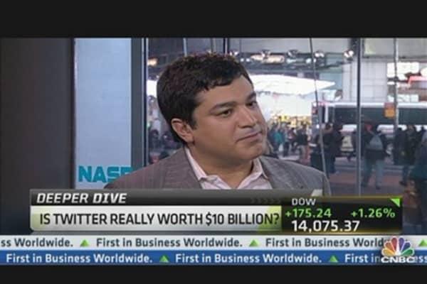 Twitter Is Worth $8.6 Billion: Sam Hamadeh