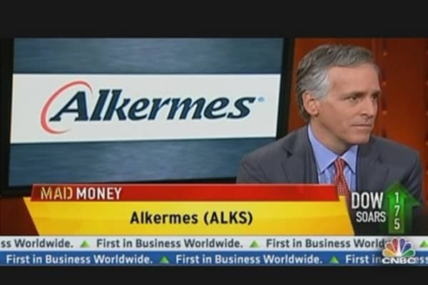 Alkermes CEO Talks Biotech