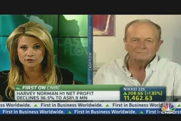 Harvey Norman: Expect Sales Growth Ahead