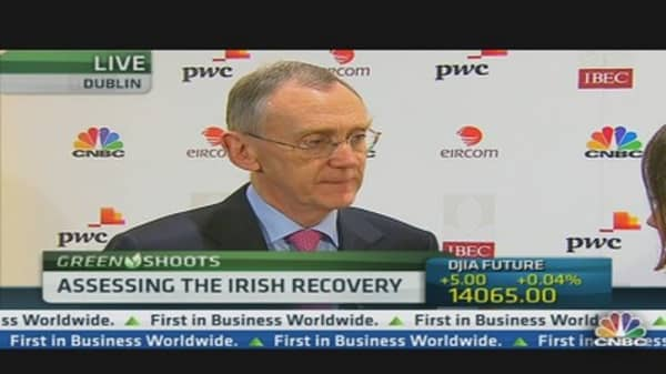 Ireland Can't Deal With Austerity Forever: CEO
