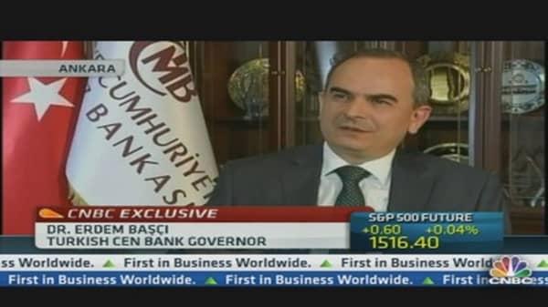 Rebalancing Key to Turkey: Bank Governor