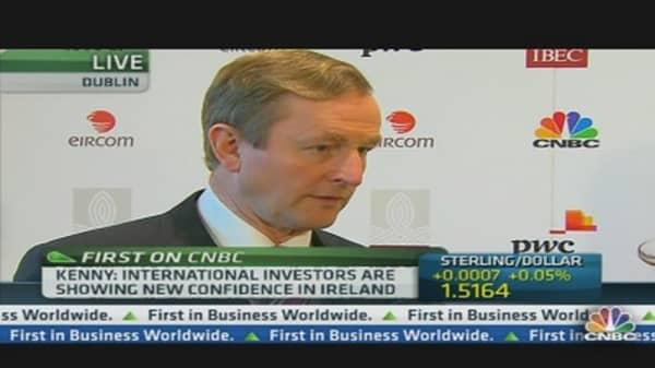 Taoiseach: Irish Economy Fragile but Improving