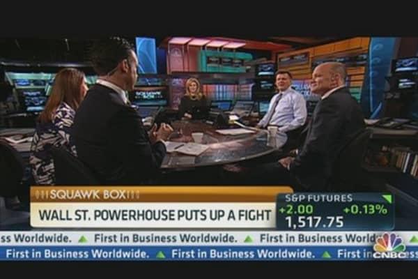 Wall Street Titan 'Wrestles' With Olympics