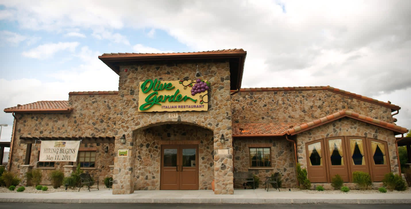 Olive Garden earns business diners\' top rating