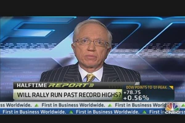 Stocks to Break Through Highs: Steve Auth