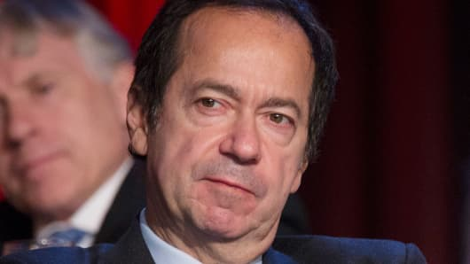 John Paulson, president of Paulson & Co. Inc.