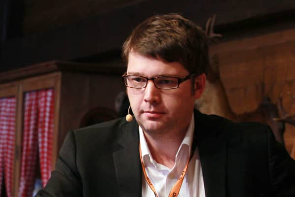 Andrew Mason, former CEO of Groupon Inc.