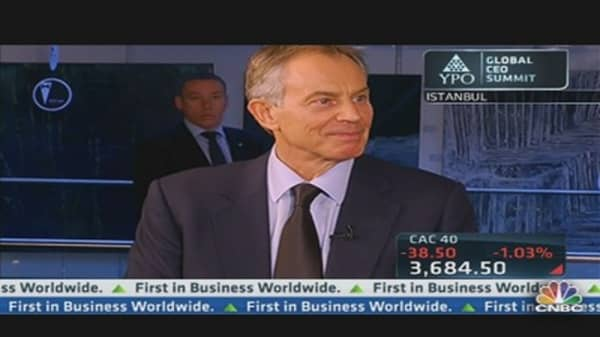 Tony Blair on US Aid to Syrian Rebels