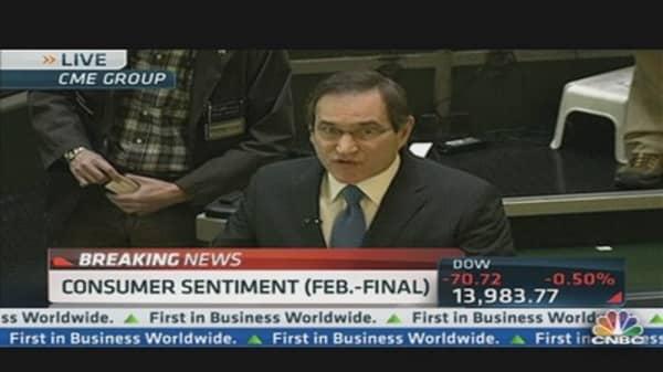 Consumer Sentiment 77.6 in February
