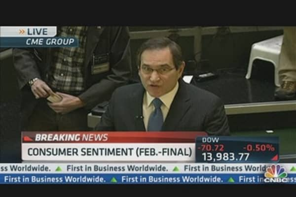 Consumer Sentiment 77.6 in February