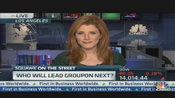 Groupon's CEO Fired,  What's Next?