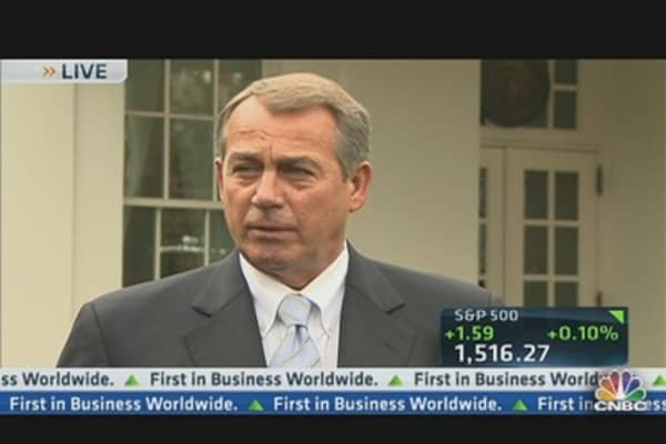 Boehner Address Spending Problem