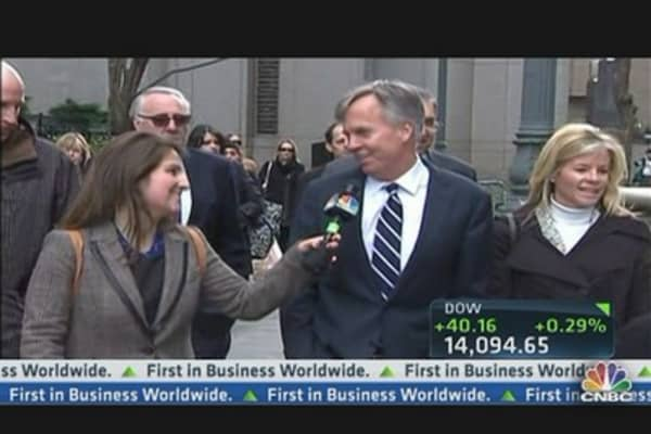 Ron Johnson's First Comments to CNBC