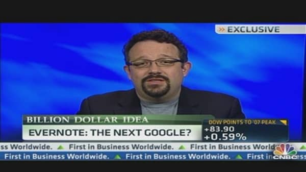 Evernote: The Next Google?