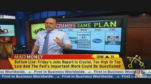 Cramer's Game Plan: The Week Ahead