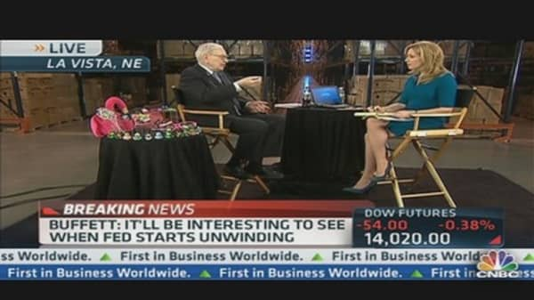 Buffett: What Will Happen When Fed Reverses Course