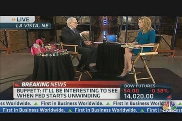 Buffett: What Will Happen When Fed Reverses Course