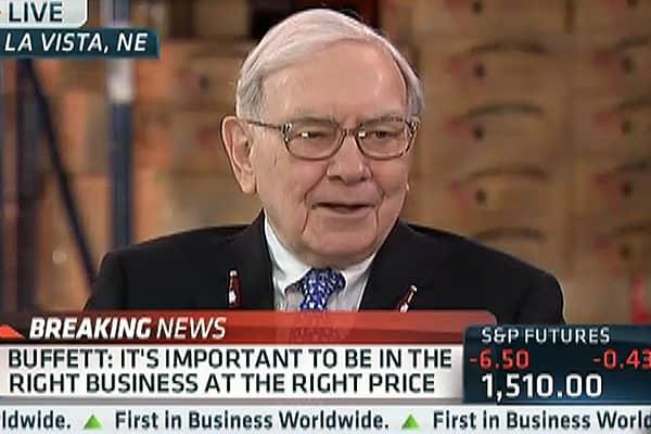 Buffett Still Sees 'Good Value' in Stocks