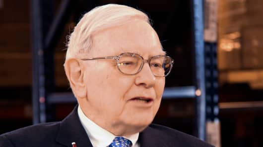 "Warren Buffett speaks to Becky Quick on CNBC's ""Squawk Box"" on Mar. 4, 2013."