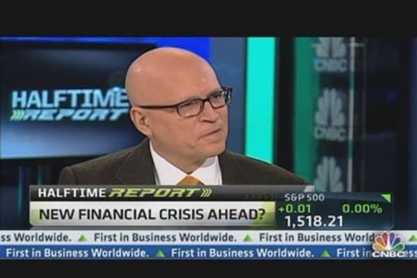 'Big Brick Wall' for Stocks: Zimmerman