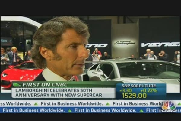 Lamborghini CEO: Go Global for Success