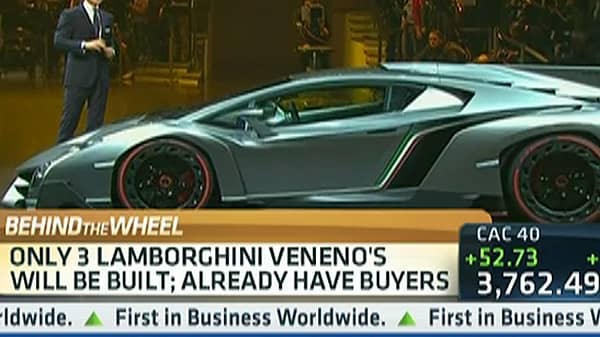Lamborghini's $4M 'Veneno' Tops Ultra-Luxury Car List