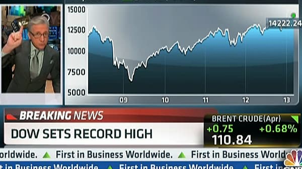 Dow Sets Record High