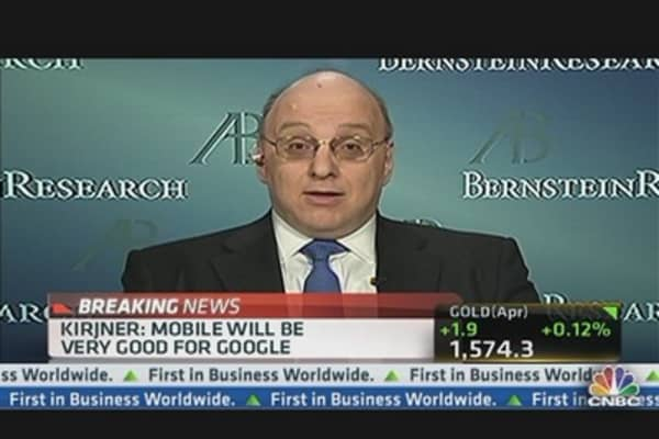 Google Stock Heading to $1,000: Carlos Kirjner