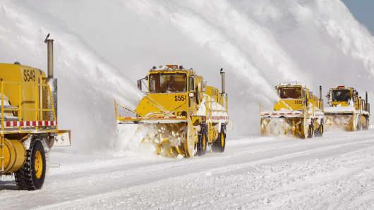 weather snow storm Chicago