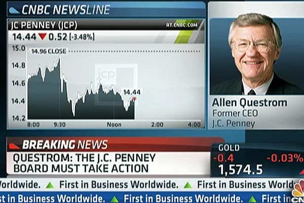 JC Penney's Former CEO Speaks Out