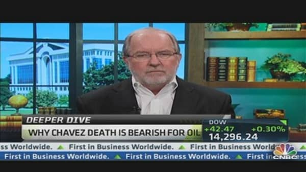 Chavez's Death Not Bullish for Oil: Gartman