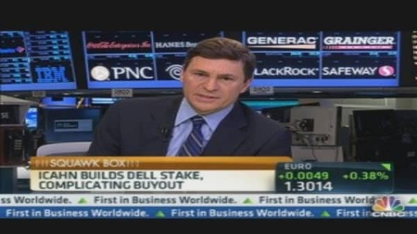 Icahn Builds Dell Stake, Complicating Buyout