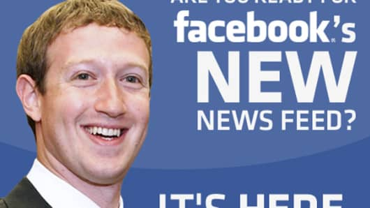 Facebook's New News Feed Is Here