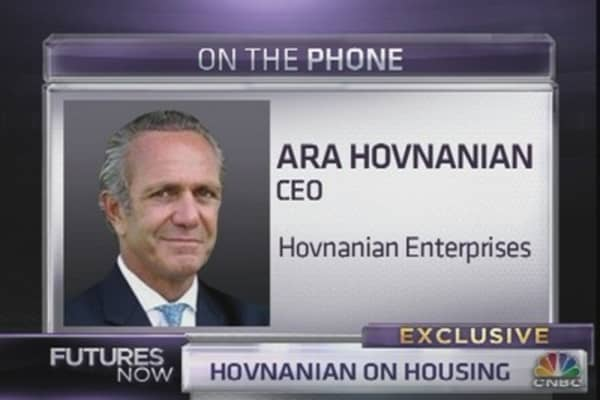 Ara Hovnanian: We're in This Inning of Recovery