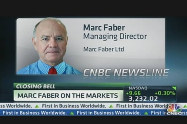 Marc Faber: Market Will End Badly This Year