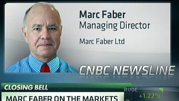 Marc Faber: 'It Will End Badly This Year'