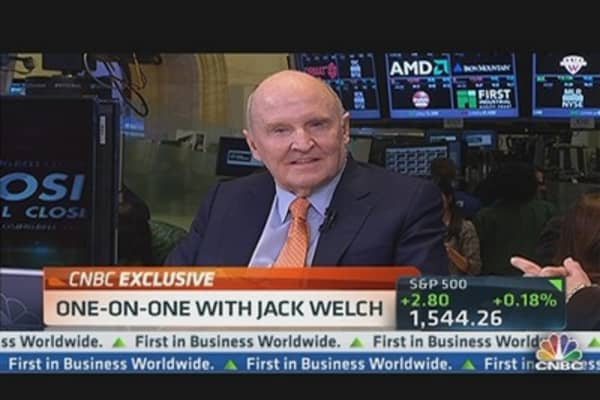 Welch: Jobs Are a Product of Growth