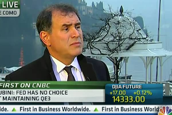 Roubini: Stocks 'Could Correct' Later This Year