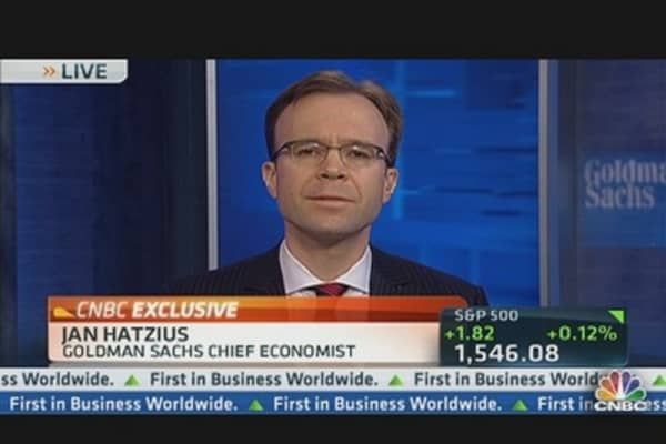 Goldman's Hatzius on Improved Jobs Report