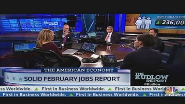 Solid February Jobs Report