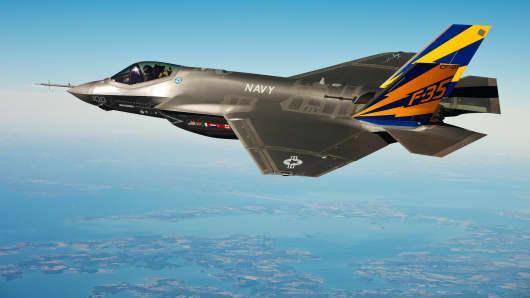 Lockheed Martin's F-35.