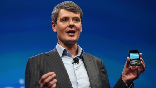 Thorsten Heins and the Z10