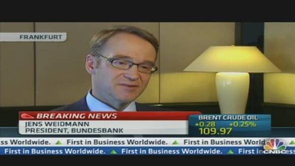 Only Politics Can Solve the Crisis: ECB's Weidmann