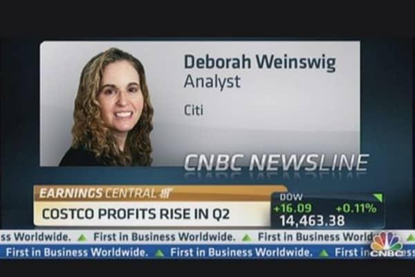 Costco's Quarterly Profits Up 39% in Q2