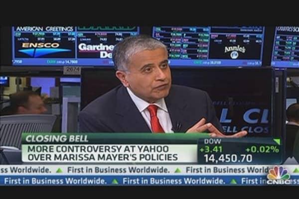 Yahoo's Mayer Raising the Bar