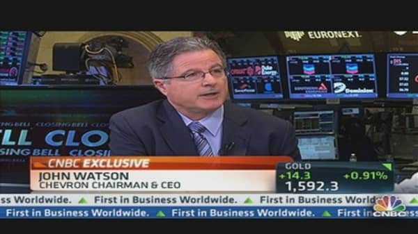Chevron CEO: Keep Cash Reserves If Oil Prices Fall