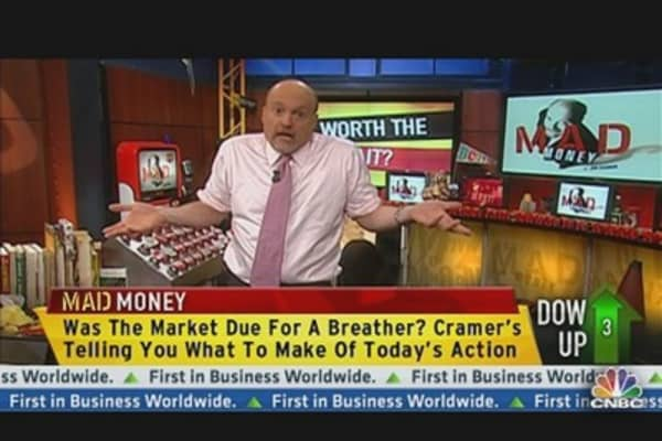 Cramer: Now Not the Time to Chase Stocks