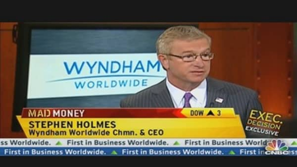 Wyndham CEO Talks Hotel Business