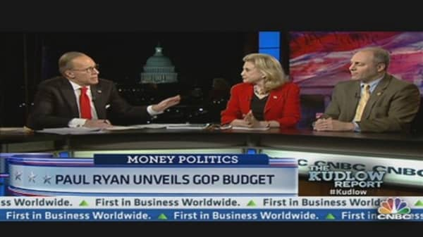 Paul Ryan Unveils GOP Budget