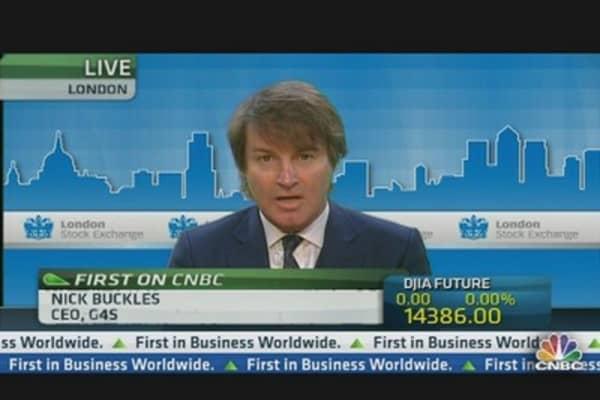 G4S CEO: Company Grew Despite Olympics